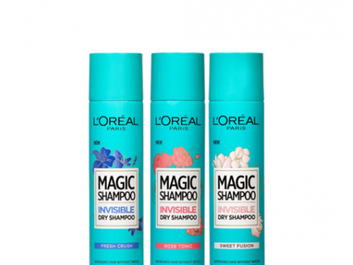 L'Oreal Paris, Magic Shampoo, Invisible Dry Shampoo