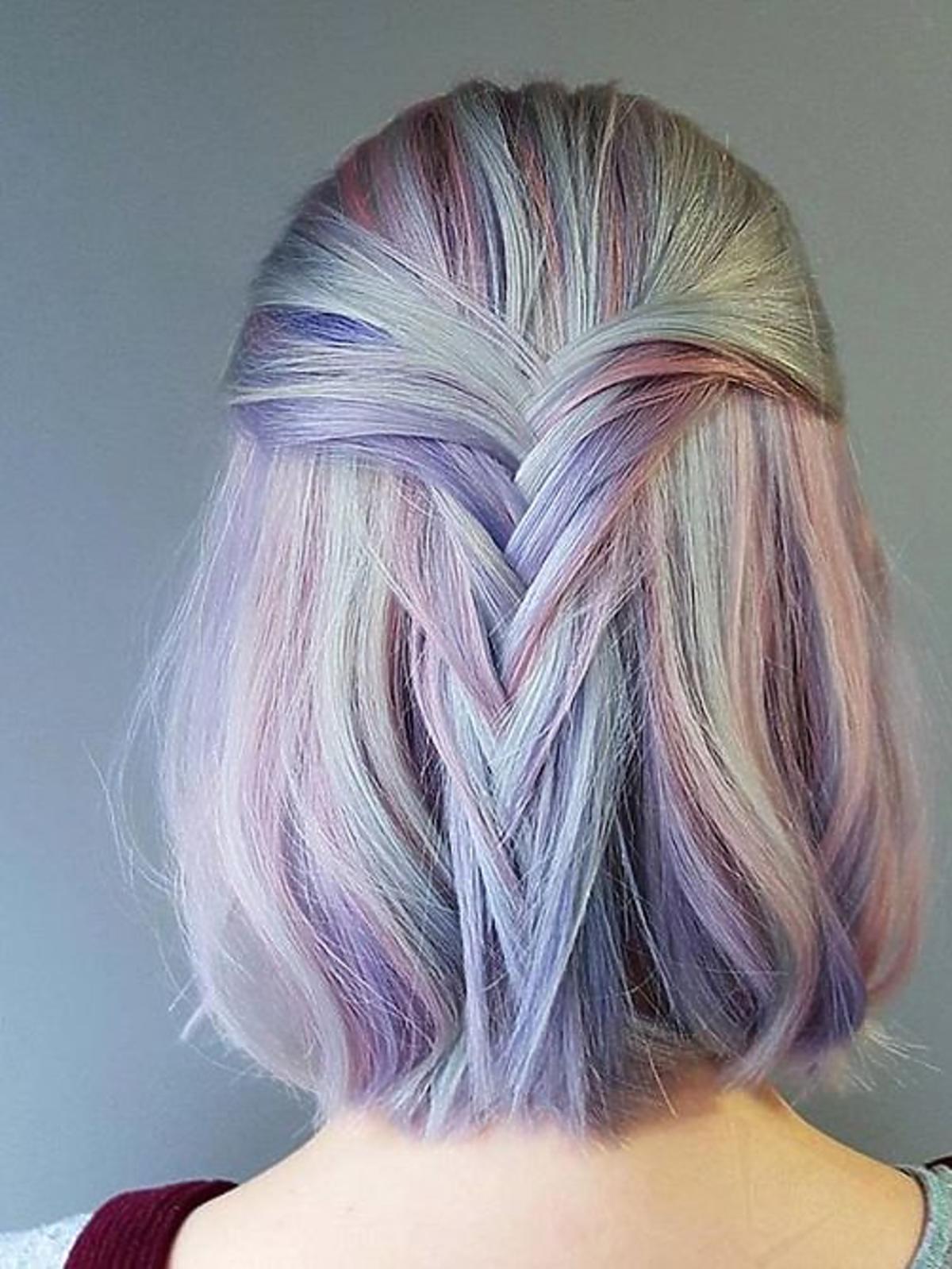 Frappuccino hair