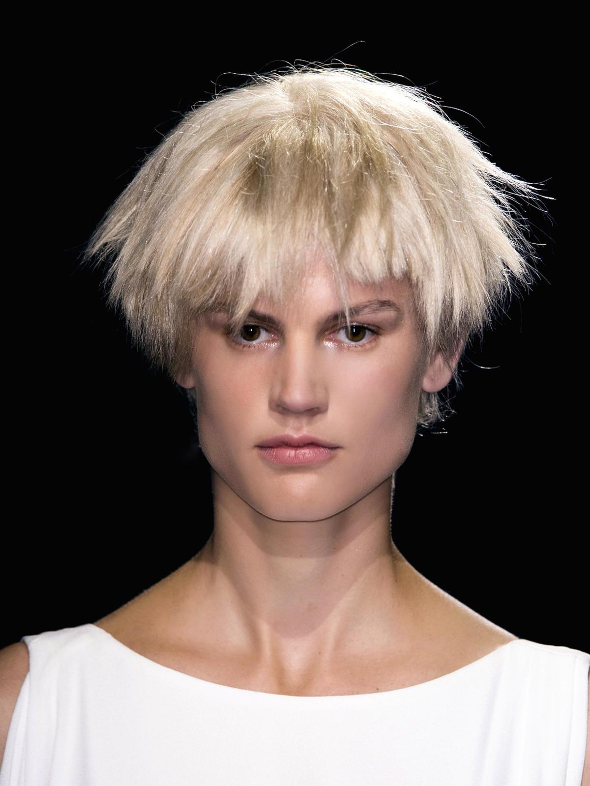 Platynowy blond na wiosnę 2015, Vionnet