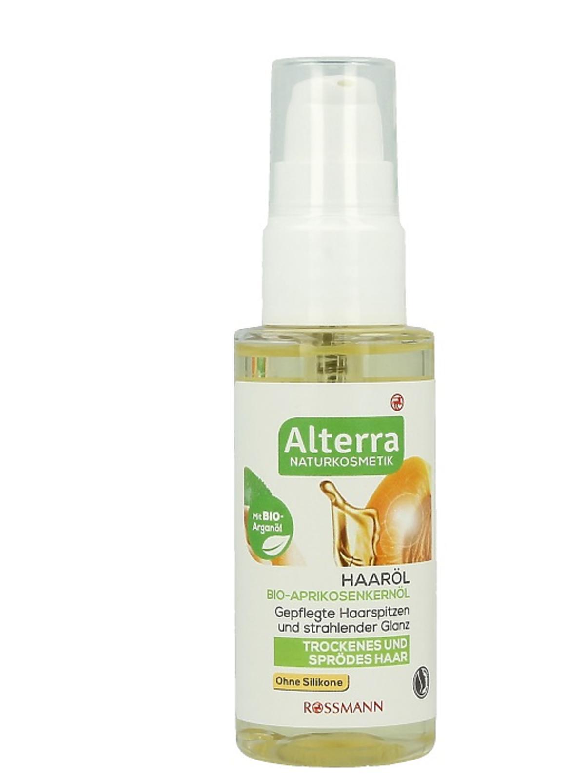 Alterra olejek do włosów suchych i łamliwych, 14,99zł