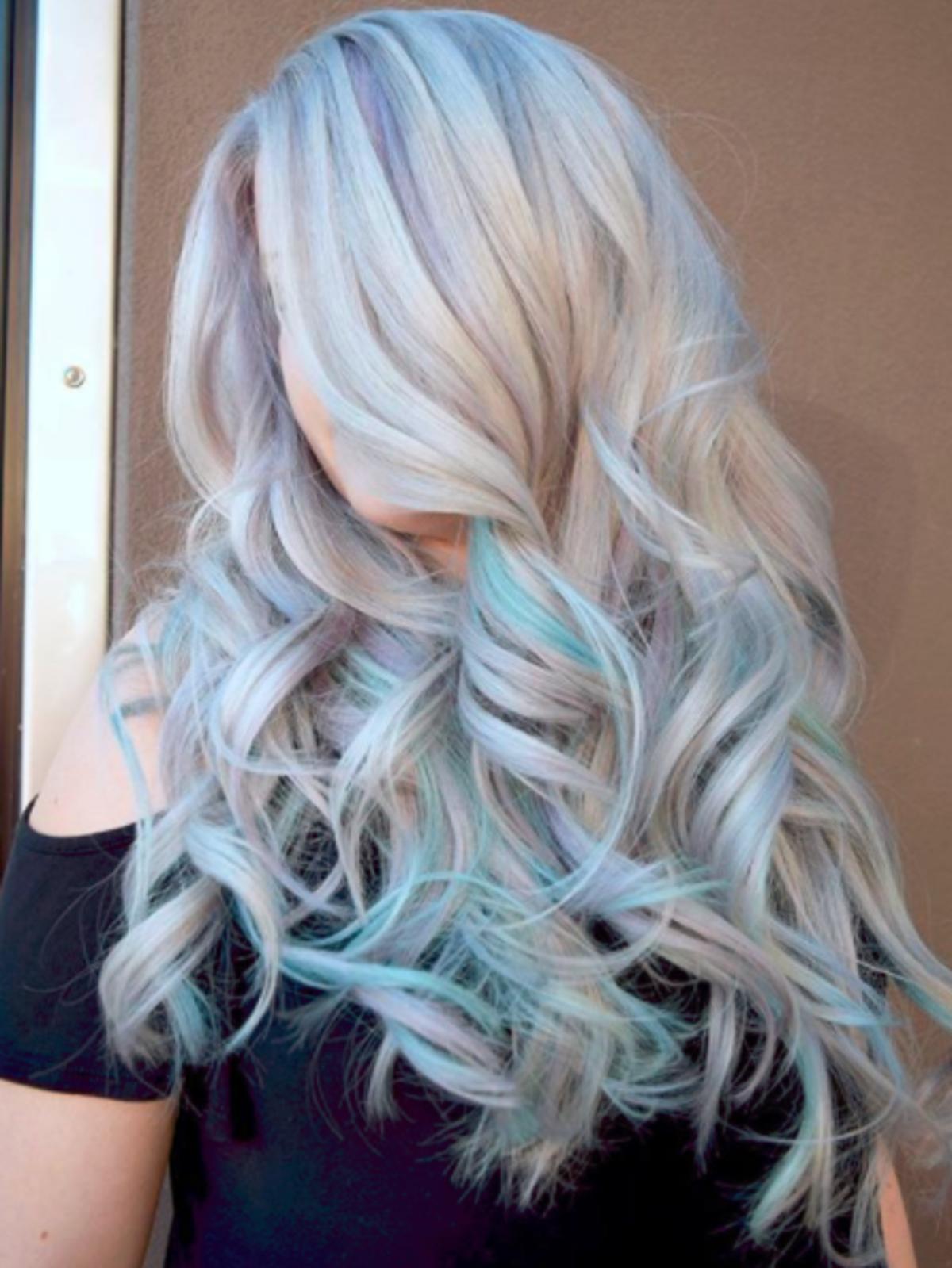 Koloryzacja opal hair