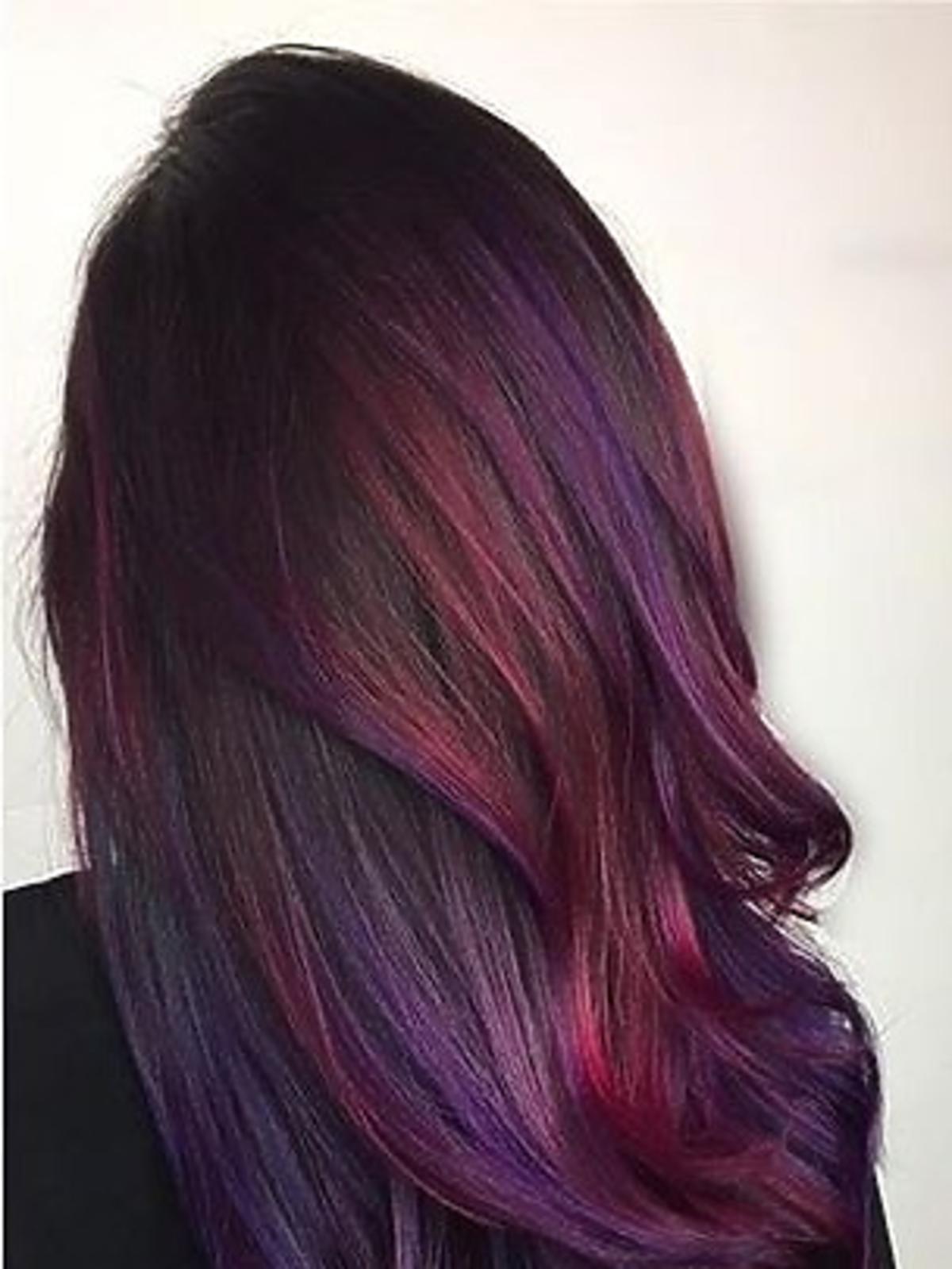 Kolor pagenta na włosach