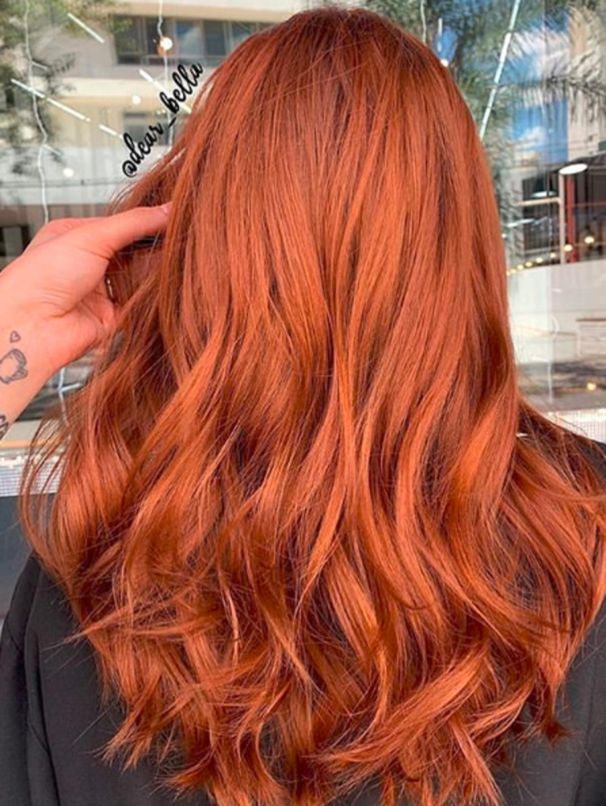 Ginger hair - modna koloryzacja