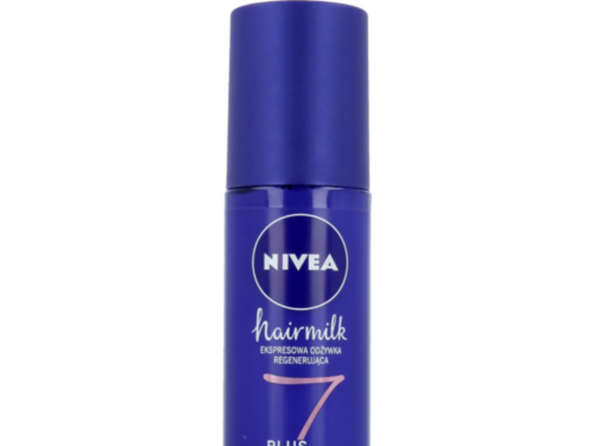 Nivea, Hairmilk, Ekspresowa regenerująca odżywka do włosów o strukturze cienkiej