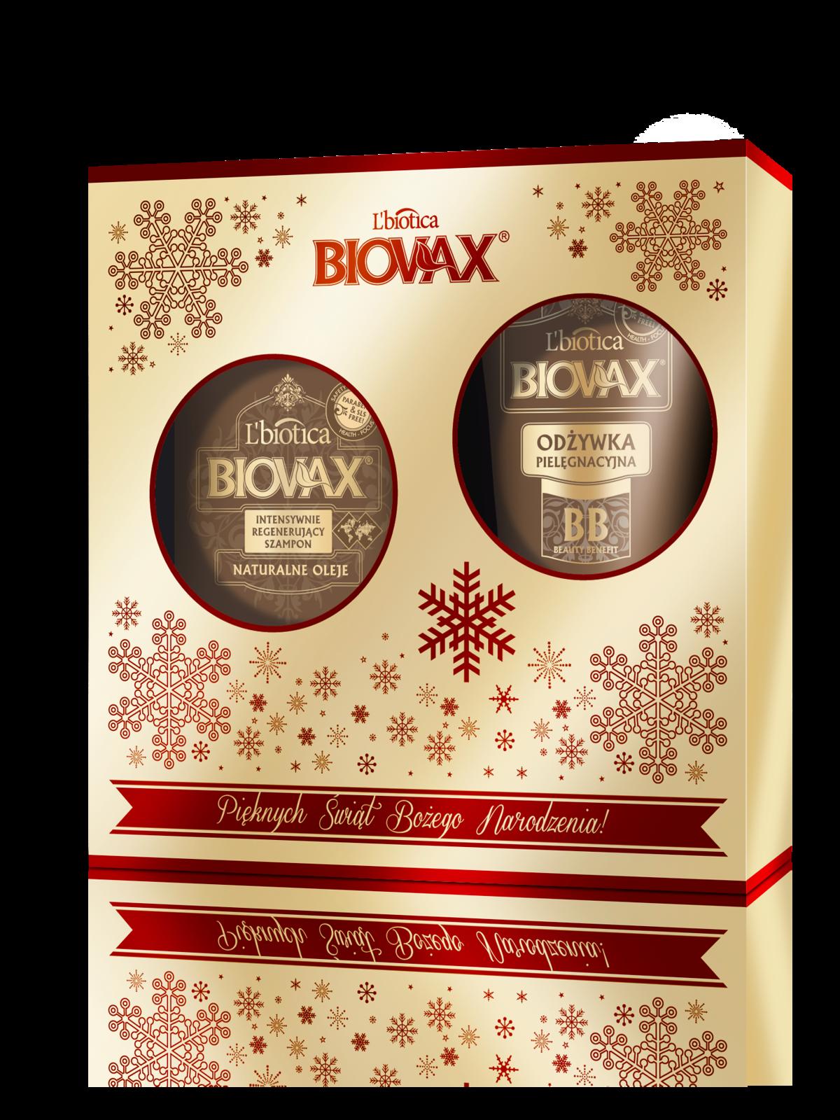 Zestaw Argan Makadamia Kokos Biovax, 32zł