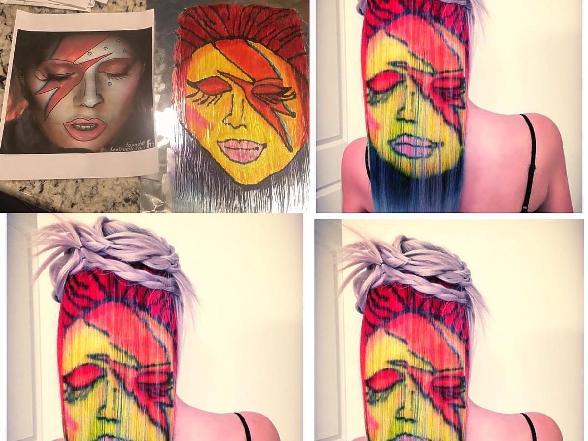 Lady Gaga jako David Bowie
