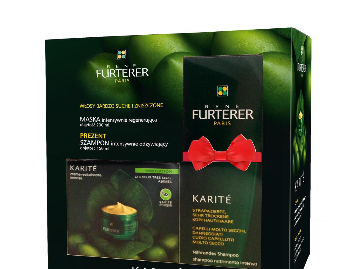 Zestaw Rene Furterer Karite do włosów bardzo suchych, 156zł