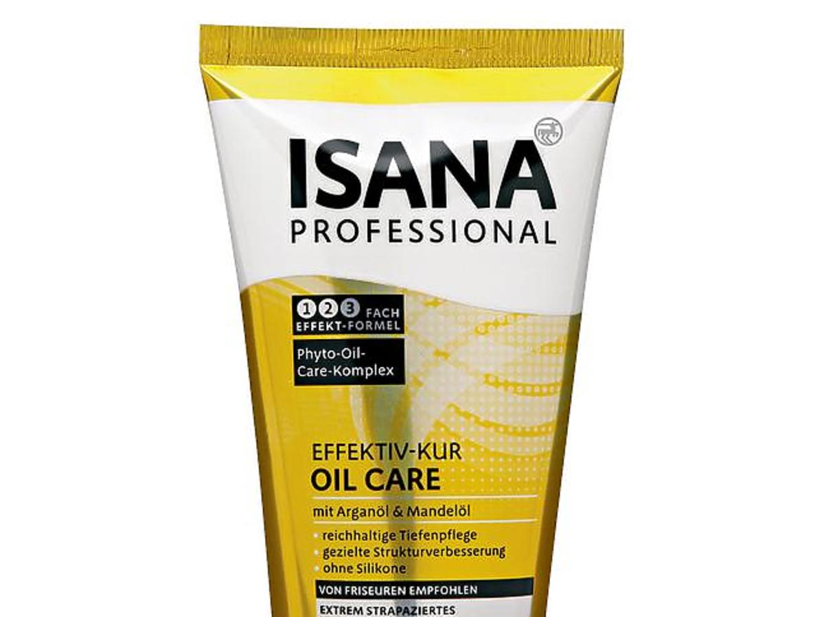 Isana, Professional, Effektiv-Kur, Oil Care (Kuracja do włosów z olejkiem arganowym)