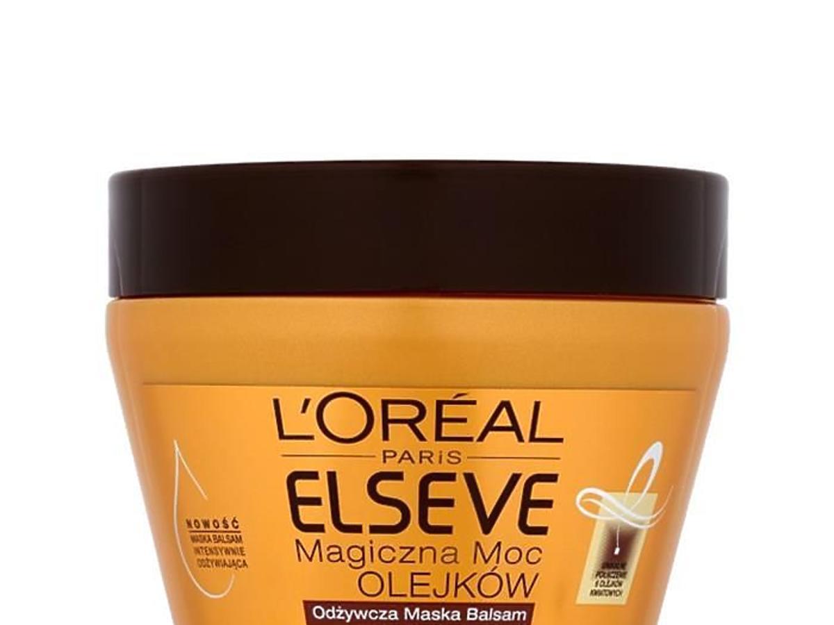 L'Oreal Paris, Elseve, Odżywcza maska - balsam 'Magiczna moc olejków'