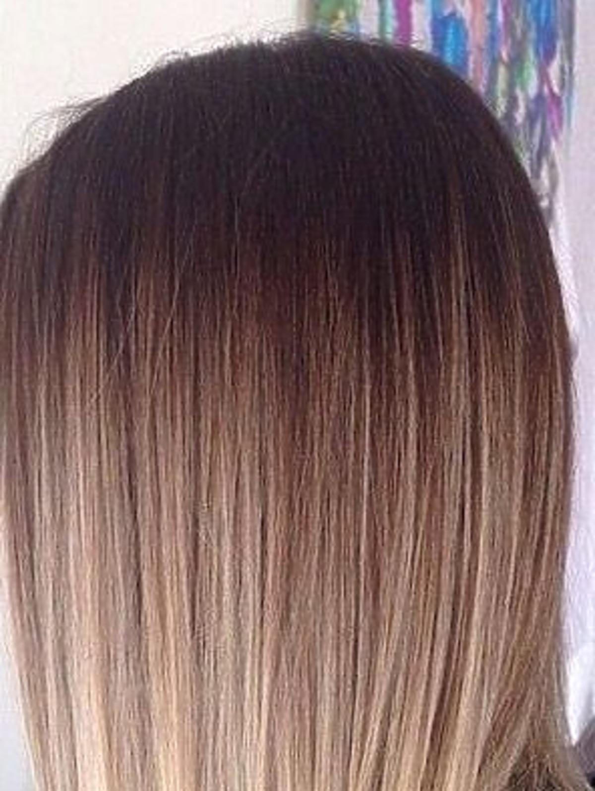 Włosy vanilla milkshake
