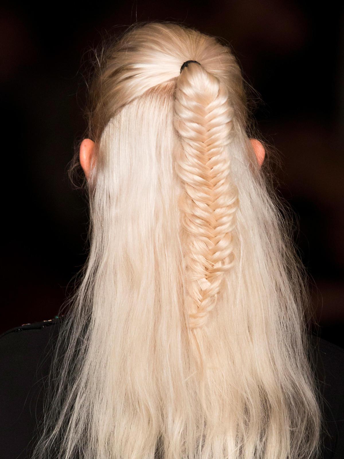 Platynowy blond Etro na jesień 2014