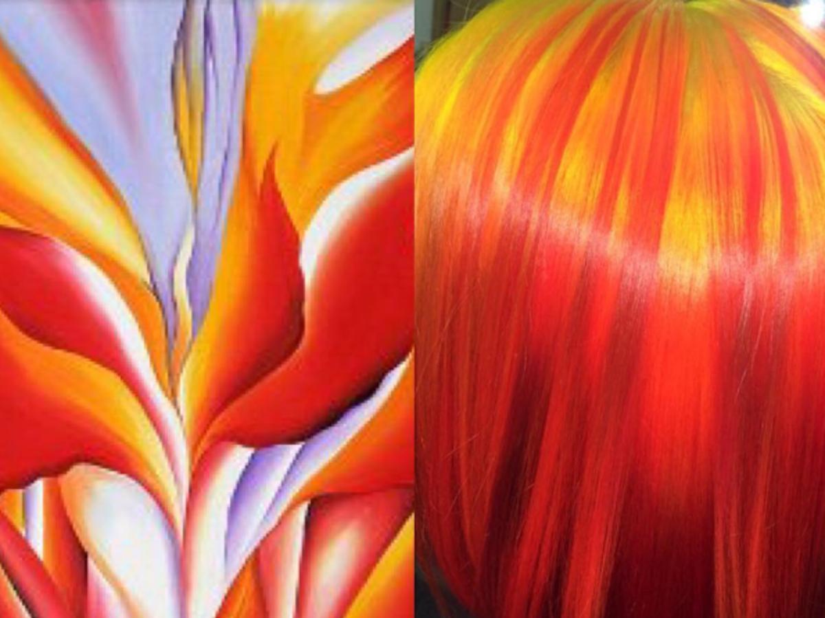 Red Canna Lily, Georgia O'Keeffe