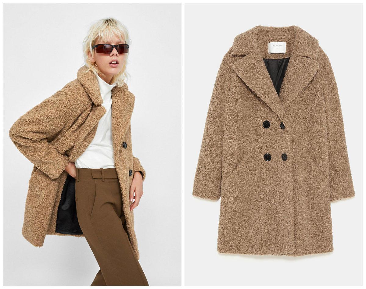 Ten (ciepły!) płaszcz z Zary to hit Instagrama. Nadal