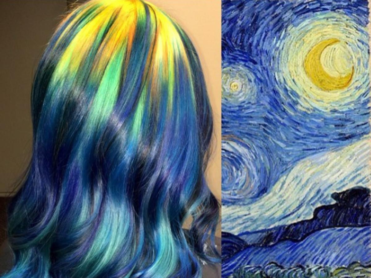 Starry Night, Vincent van Gogh