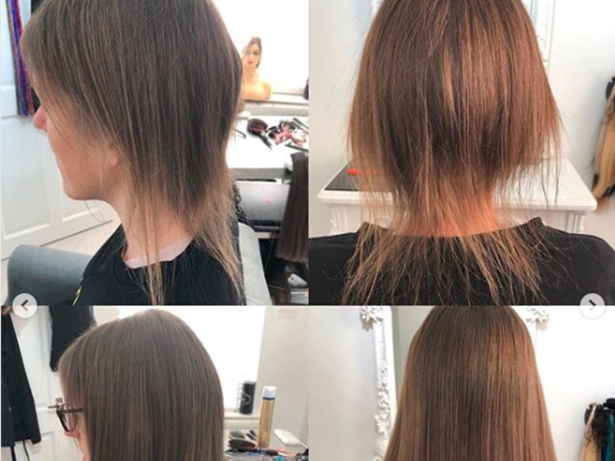 Metamorfoza krótkich i zniszczonych włosów