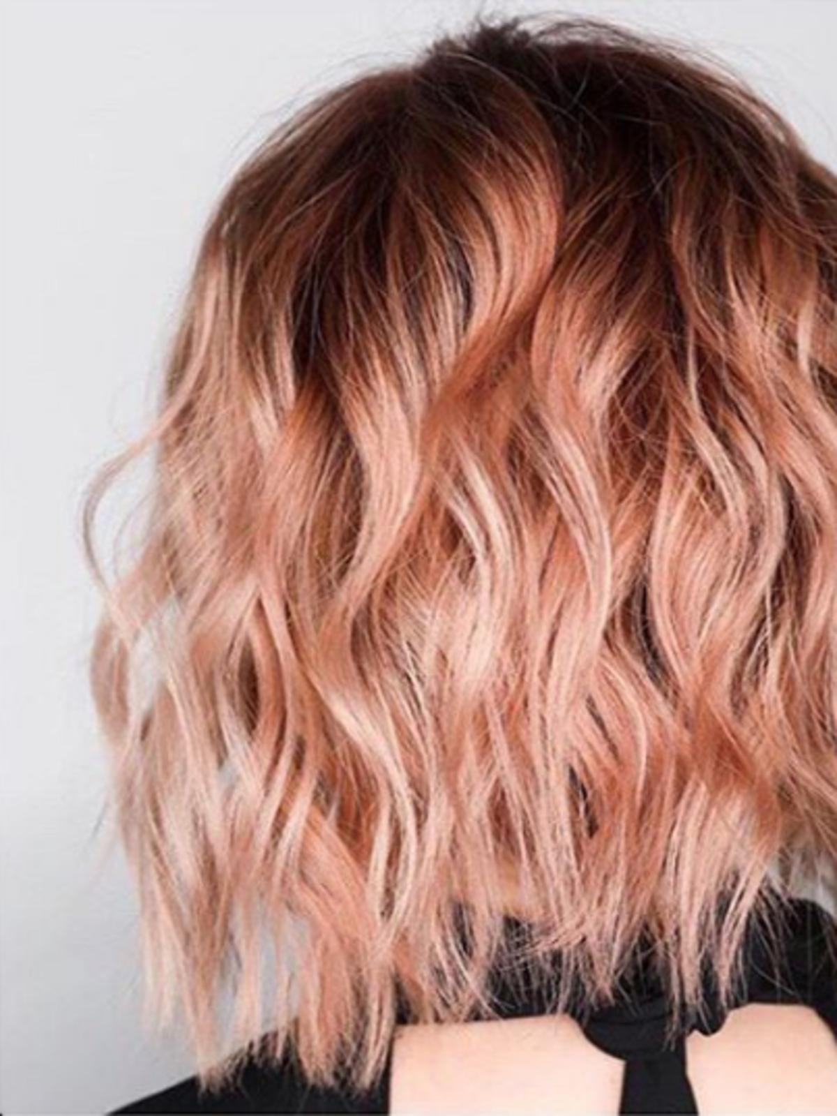 Koloryzacja coral hair
