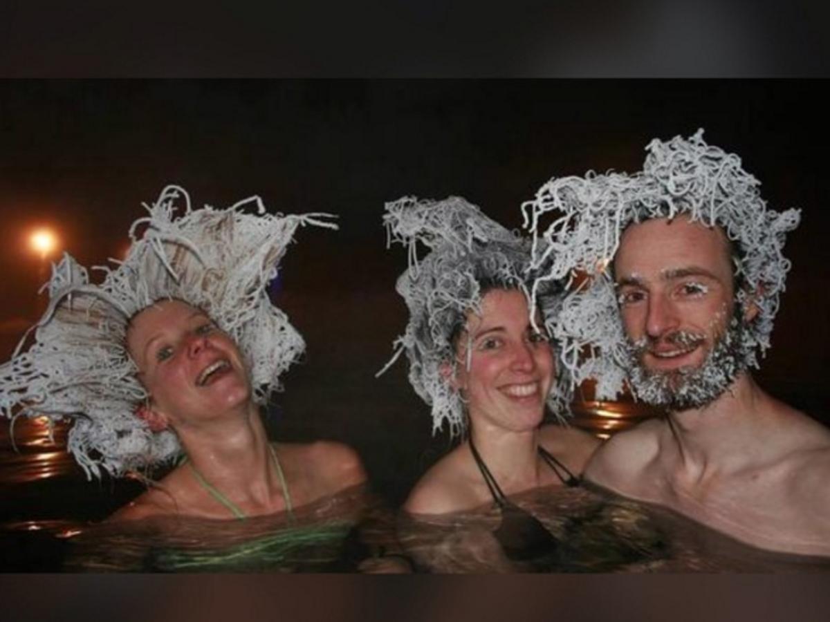 Konkurs na fryzurę z zamarzniętych włosów