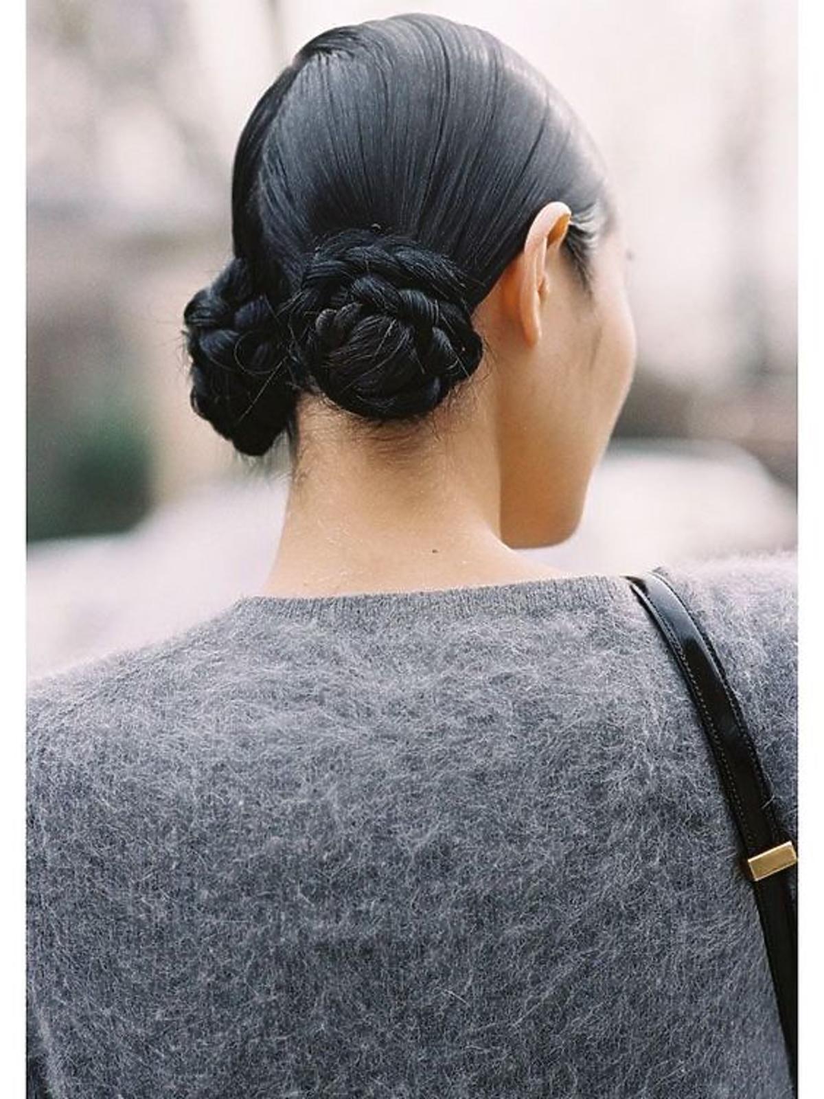 Macaron buns - najmodniejsza fryzura na Pintereście