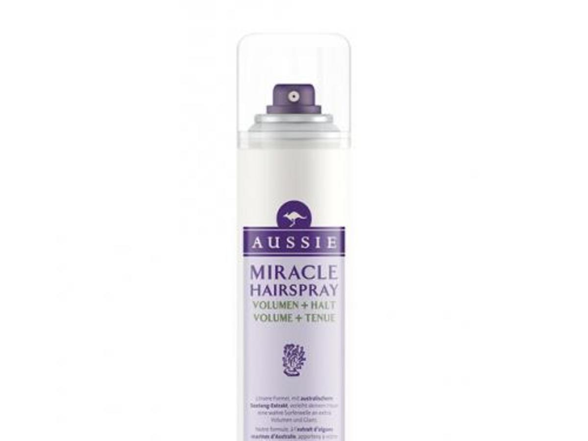 Aussie, Volume + Hold, Miracle Hairspray