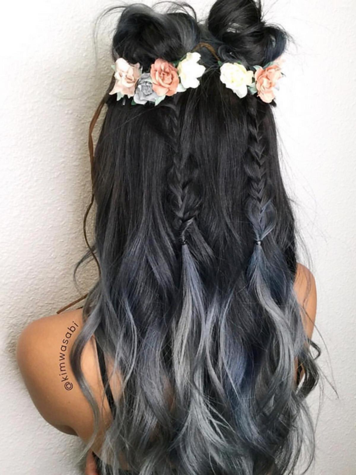 Charcoal hair - węglowe włosy
