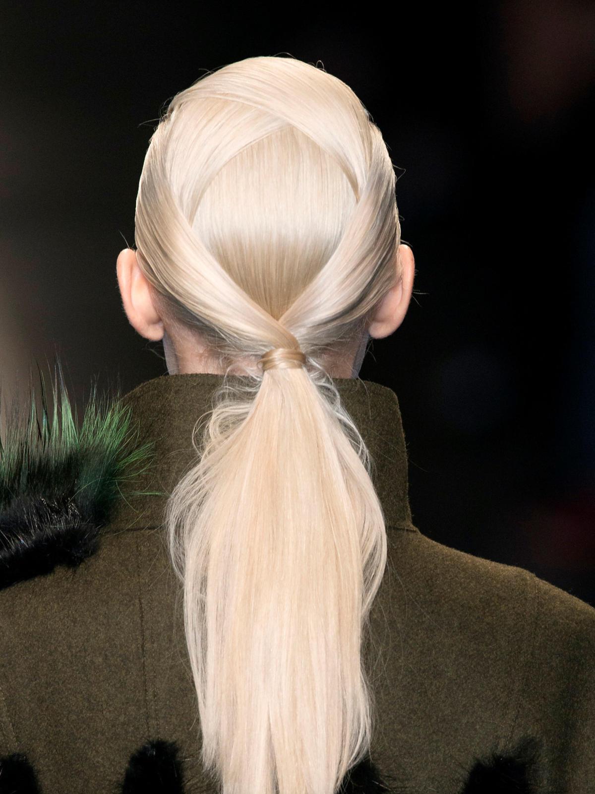 Platynowy blond Fendi na jesień 2014