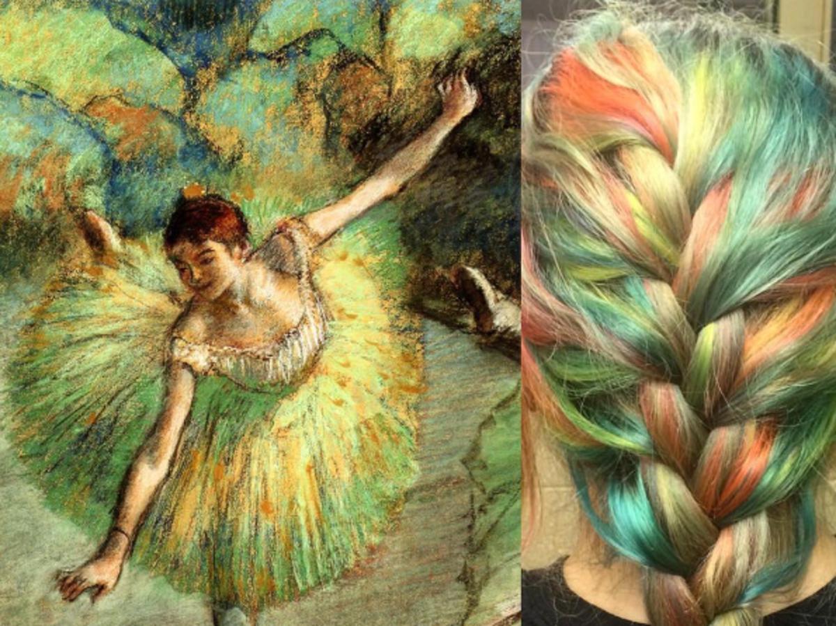 Dancer Tilting, Edgar Dega
