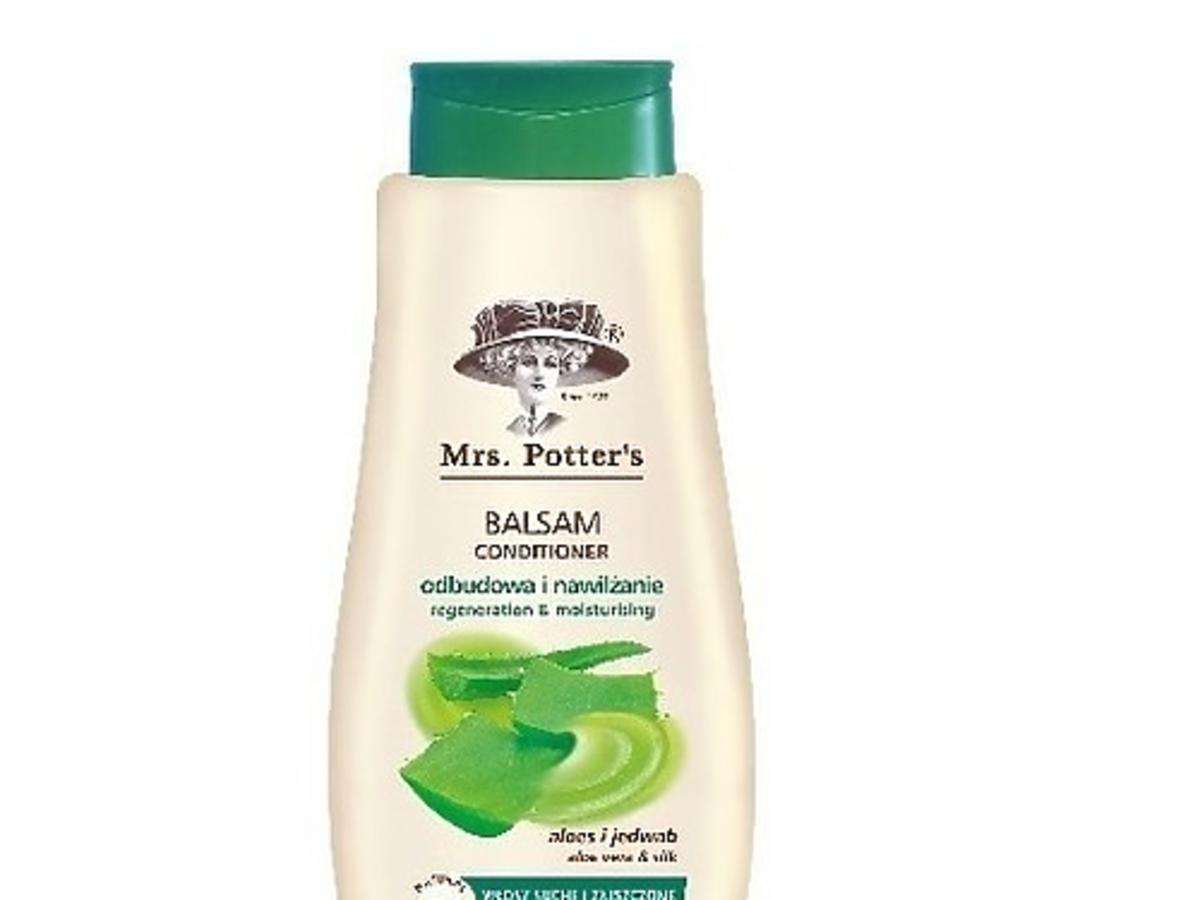Mrs. Potter's, Balsam do włosów z aloesem, jedwabiem i białą herbatą