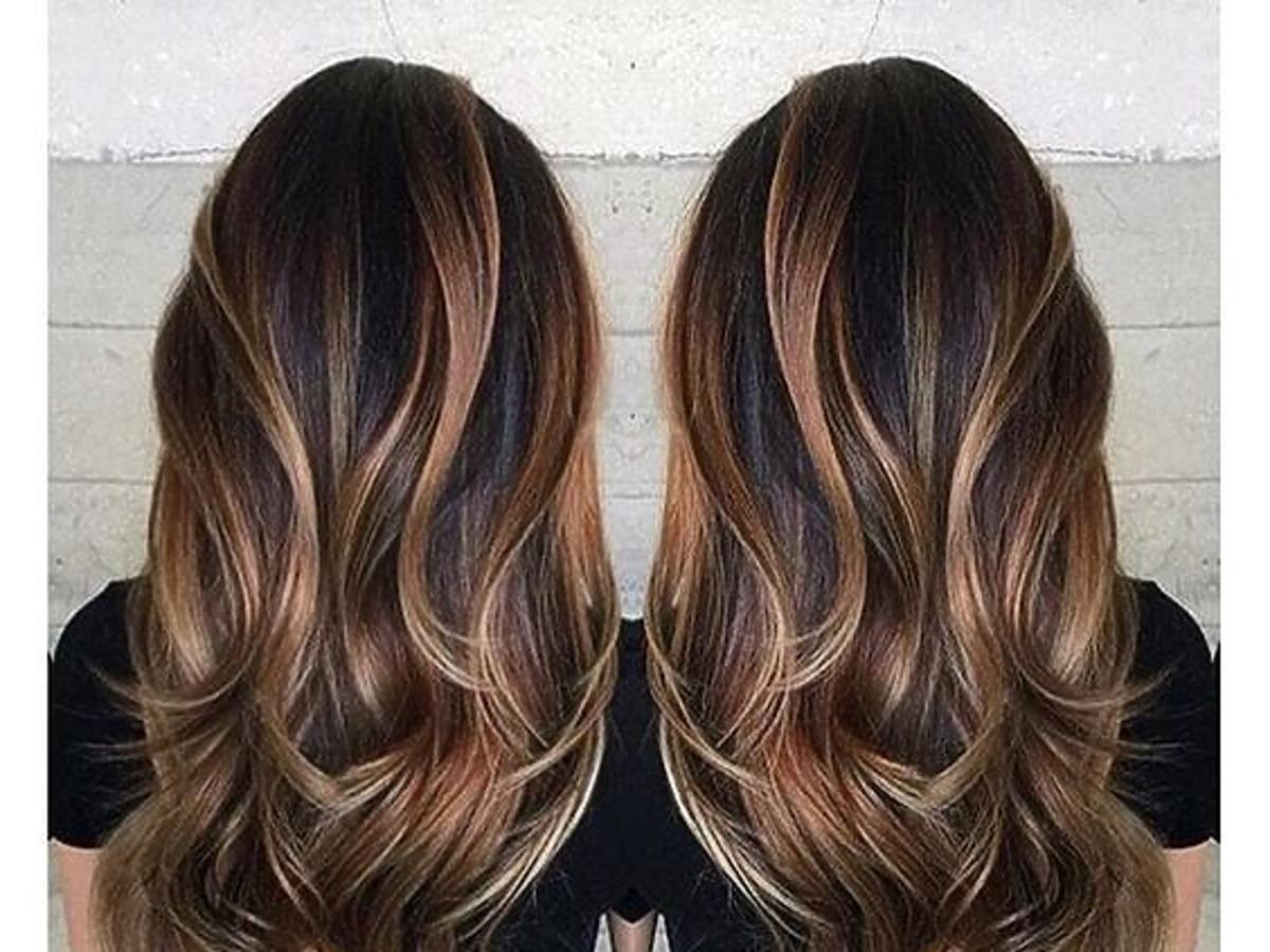 Koloryzacja chocolate orange