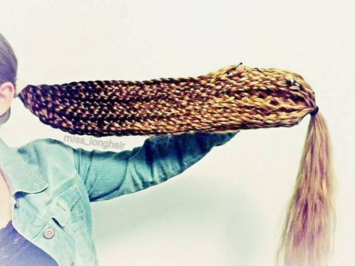 Długie włosy Małgorzaty Kulczyk