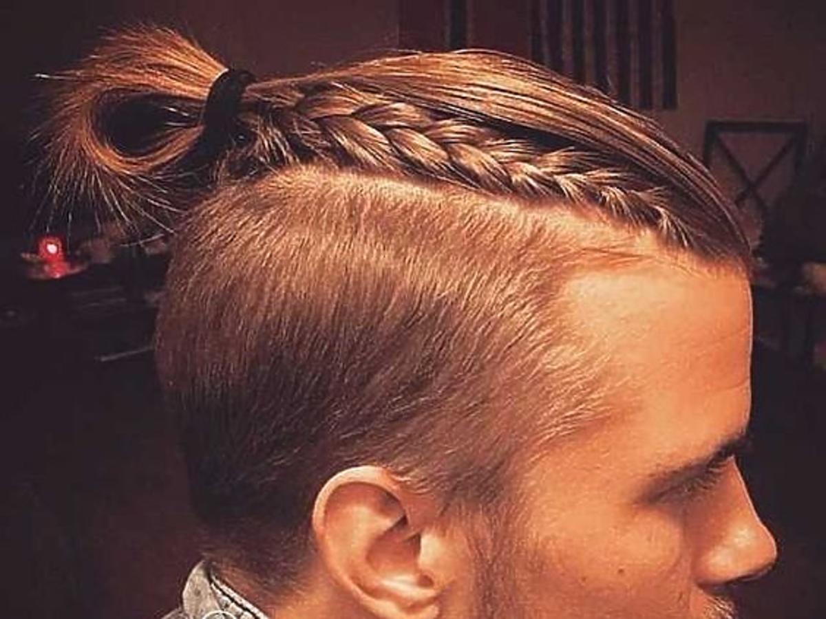 Man braid, czyli męskie warkocze