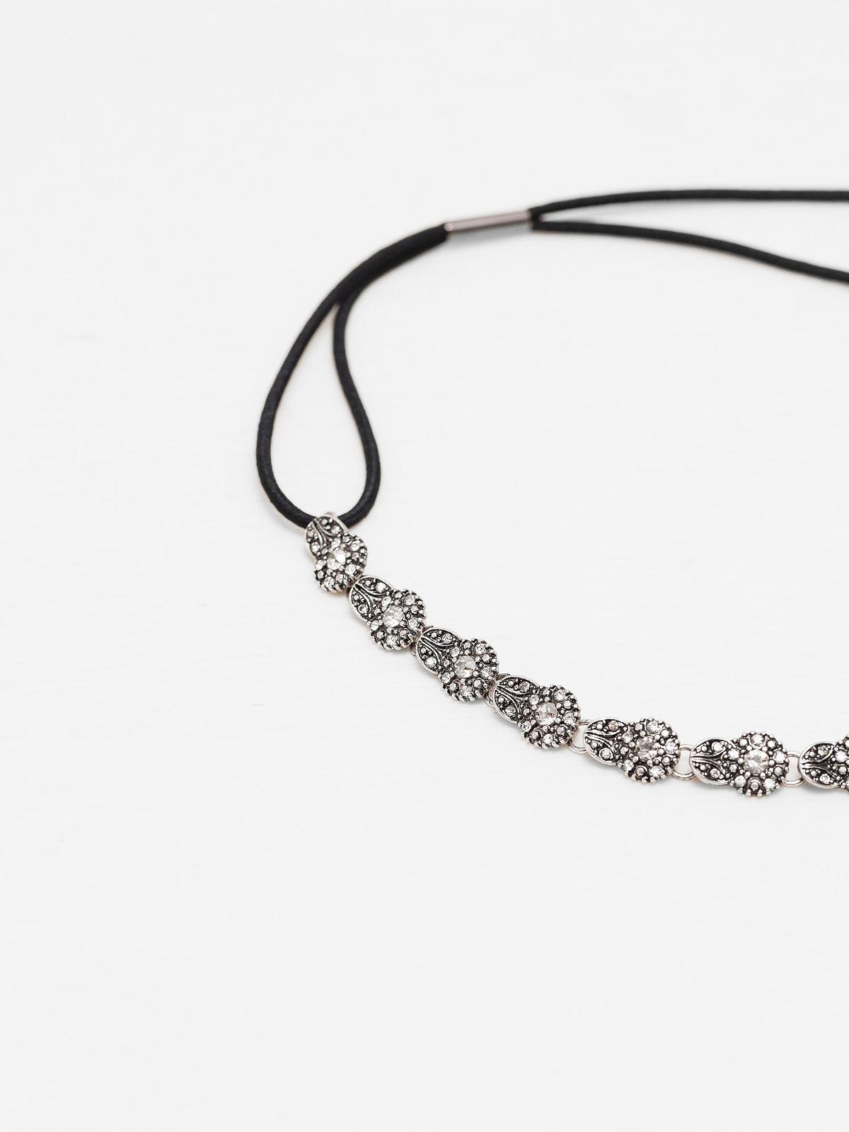 Opaska z kryształkami Zara, 49,90 zł