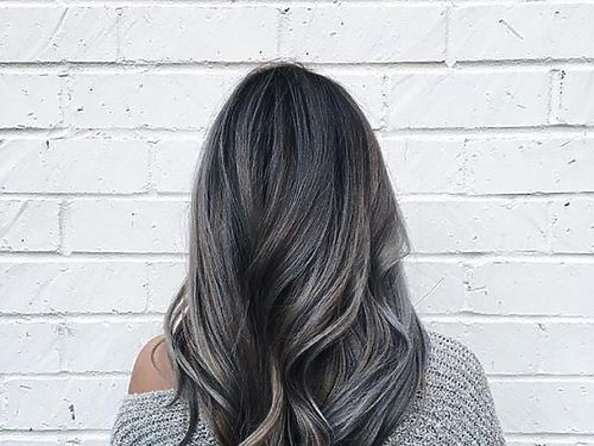 Koloryzacja w stylu przydymionej siwizny