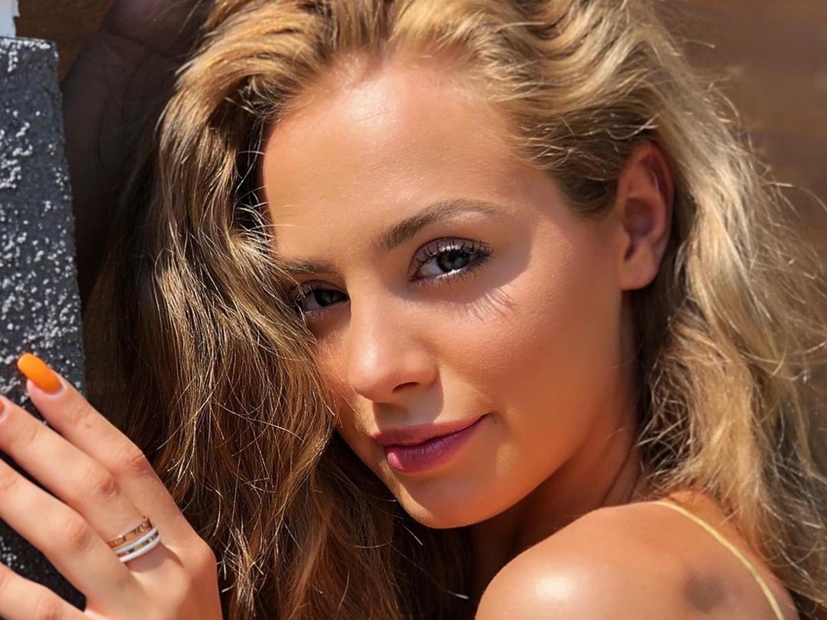 Wiktoria Gąsiewska pokazała się w bikini. Fani: Słoneczny