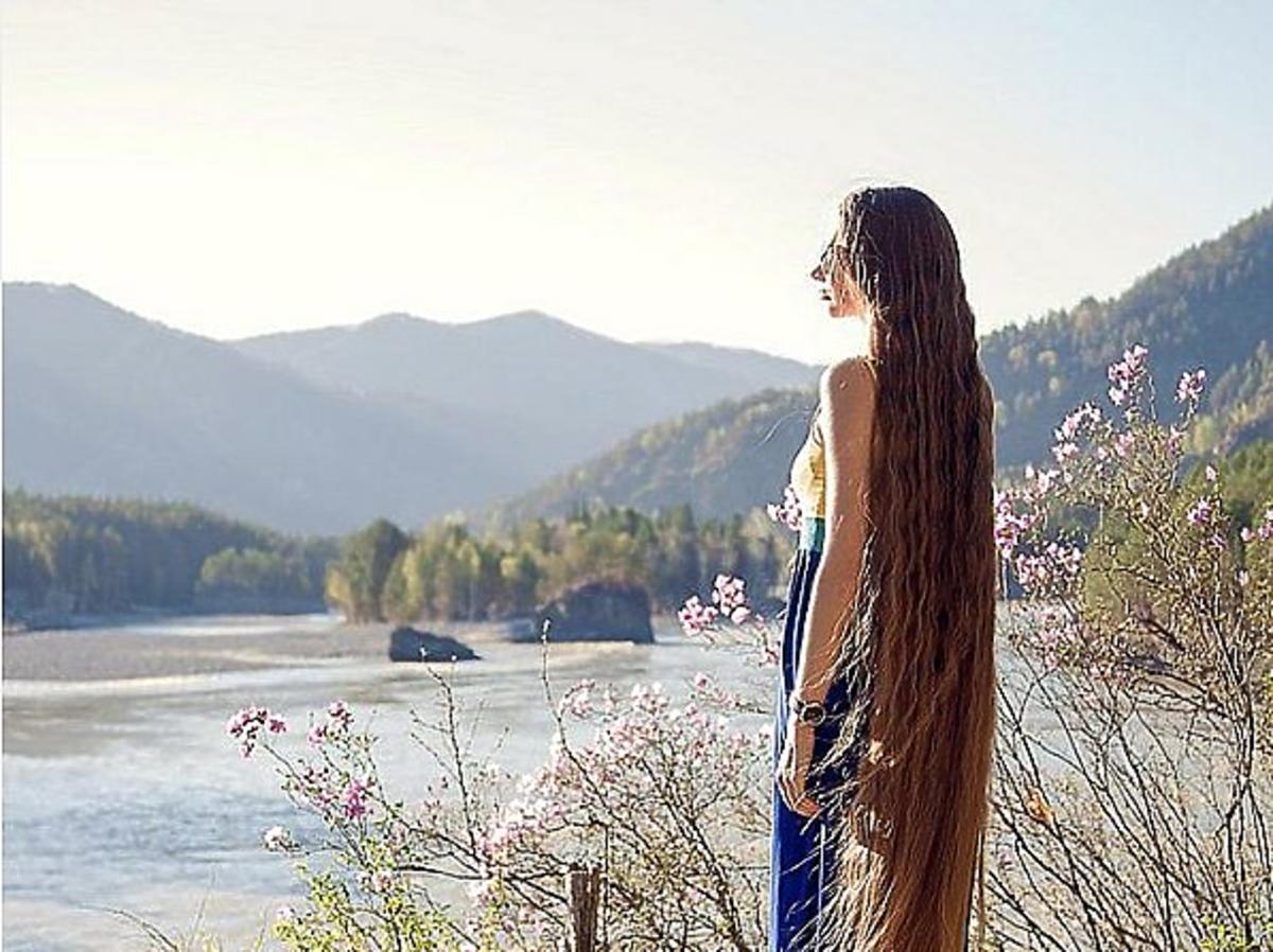 Włosy do ziemi