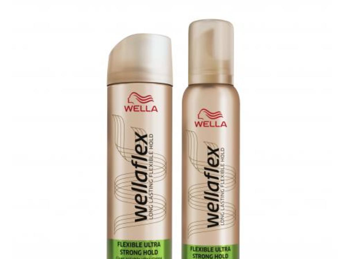 Wella, Wellaflex, Flexible Ultra Strong Hairspray