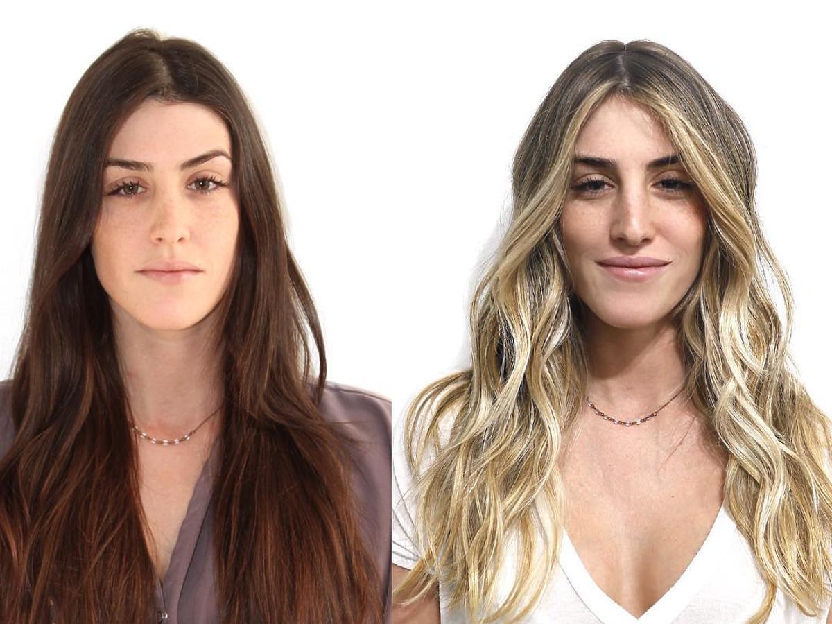 Metamorfozy fryzjera z LA: z brązu w blond