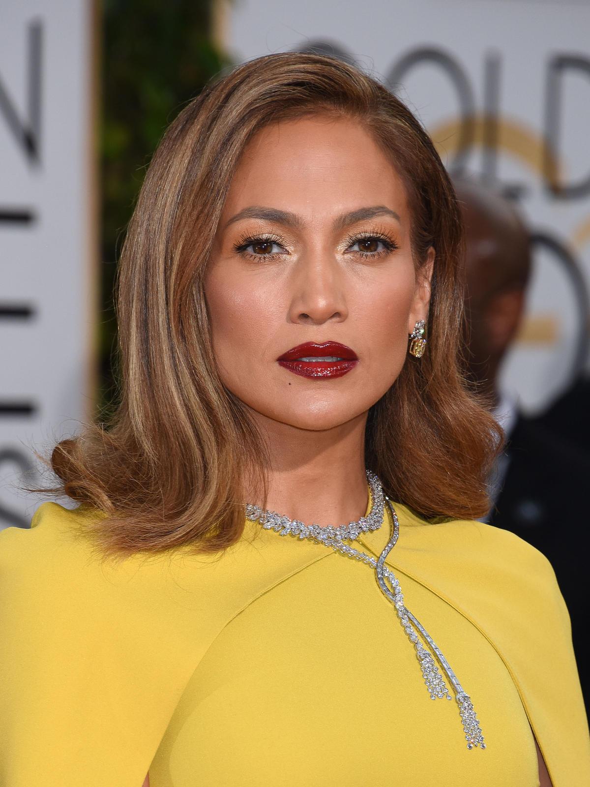 Złote Globy 2016 - Jennifer Lopez