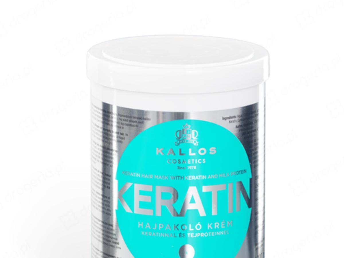 Kallos Cosmetics Keratin - Maska keratynowa z proteinami mleka