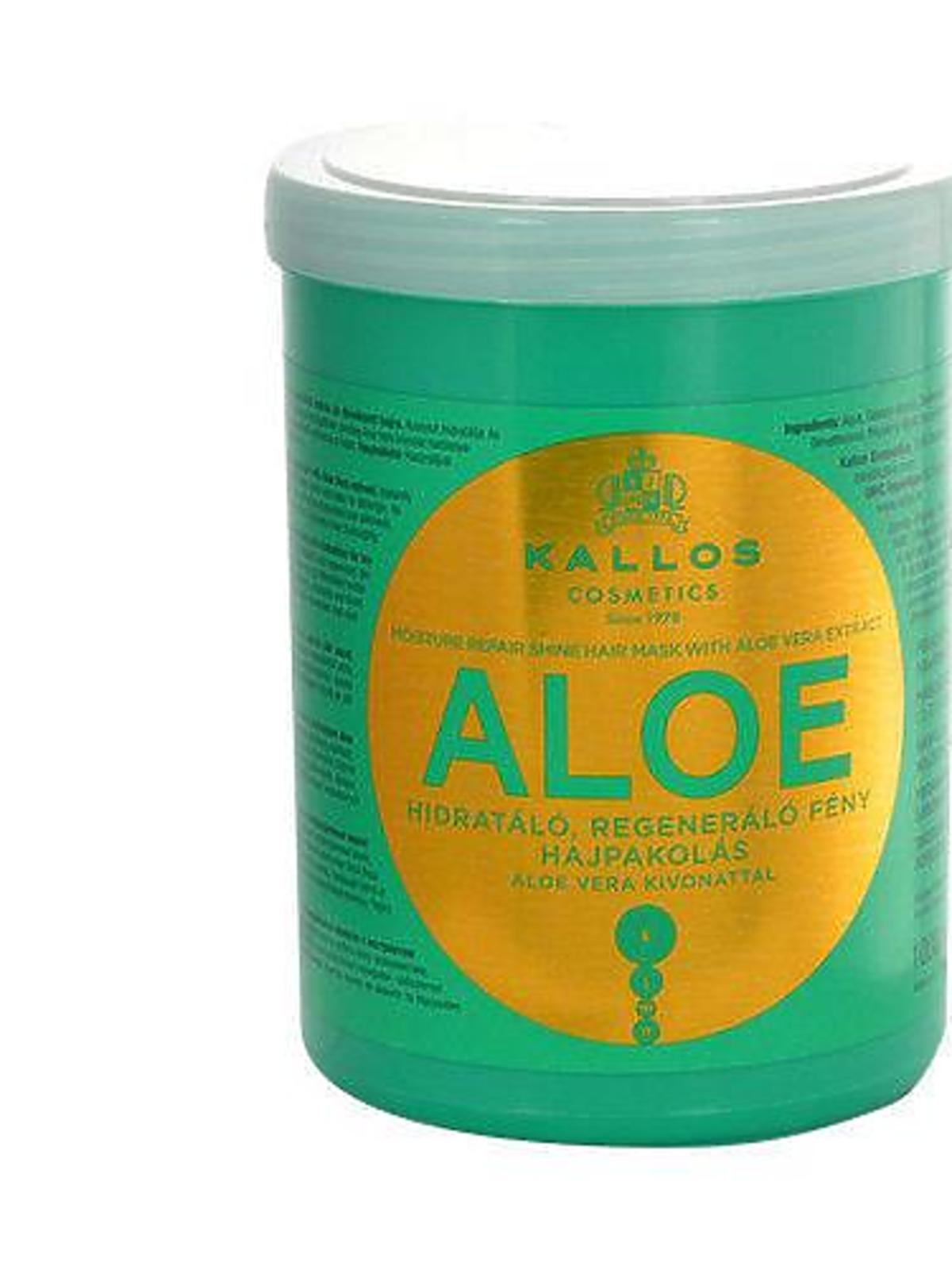 Kallos, Aloe, Aloesowa maska do włosów
