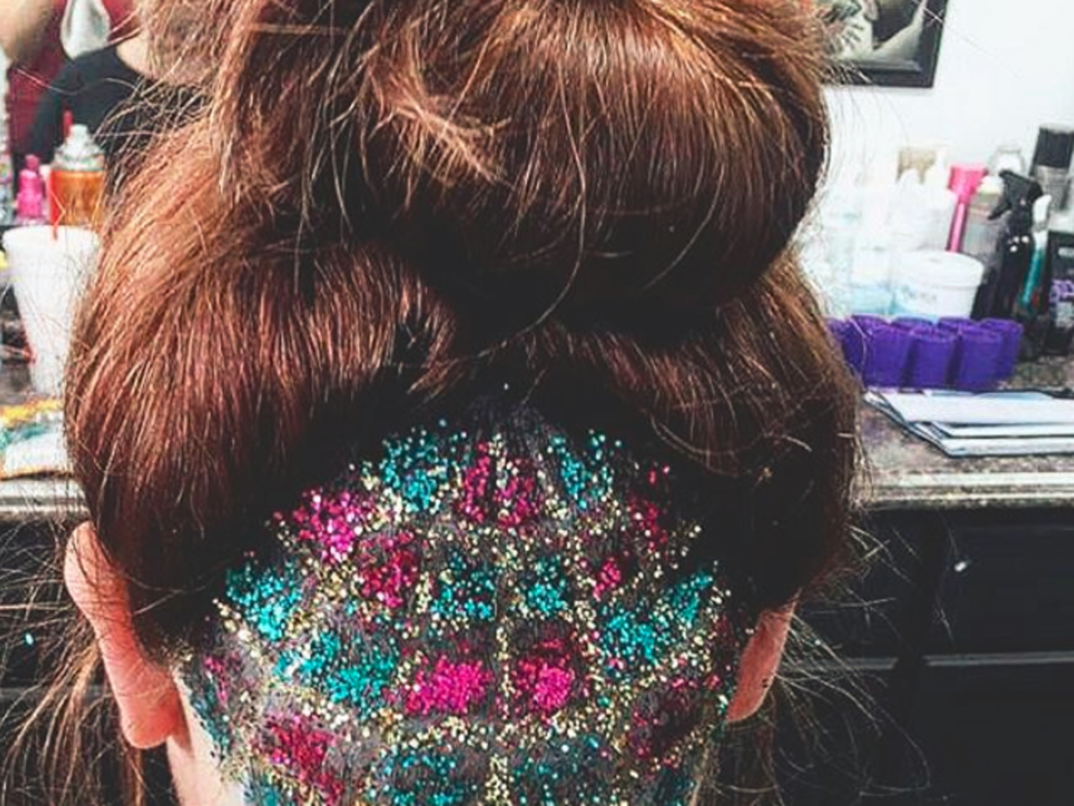 Bejeweled undercut - odważny trend we fryzurach