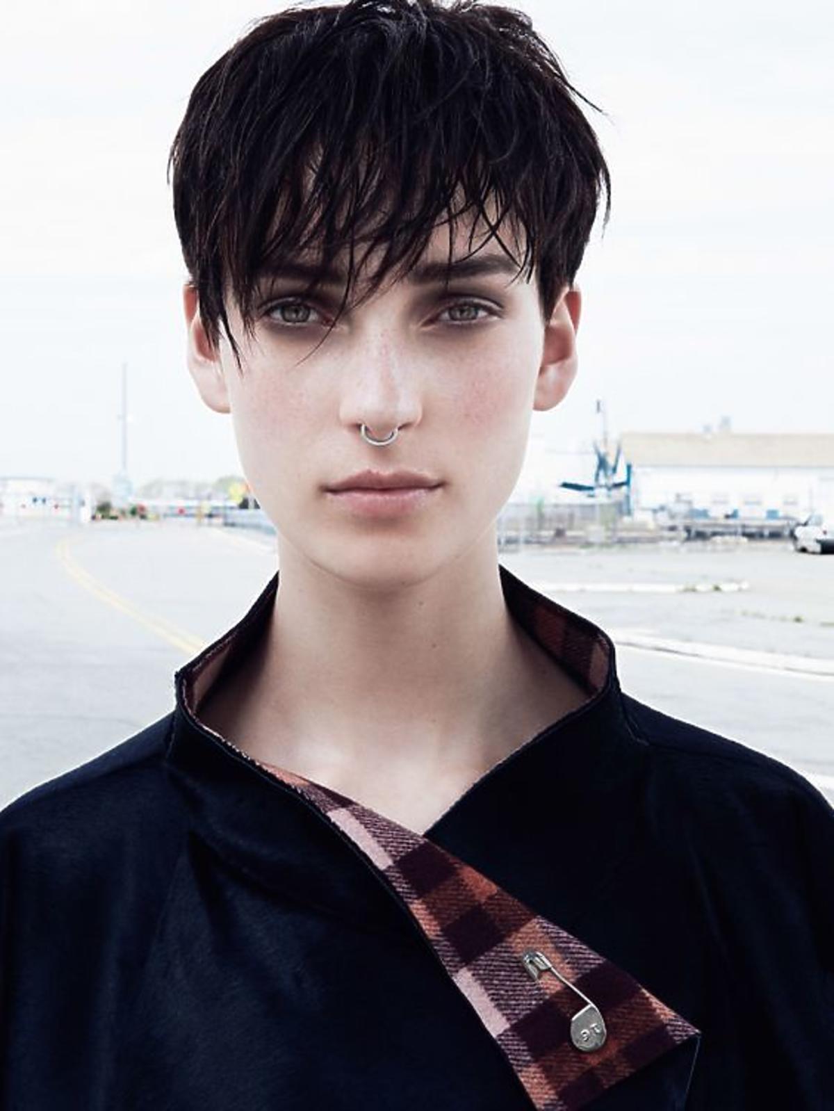 Fryzura boy cut