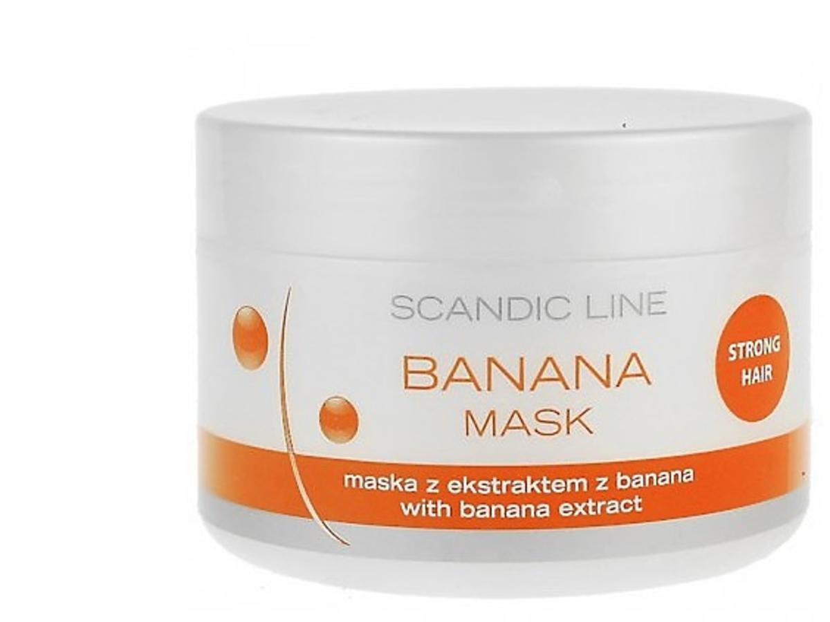 Bananowa maska Scandic Line
