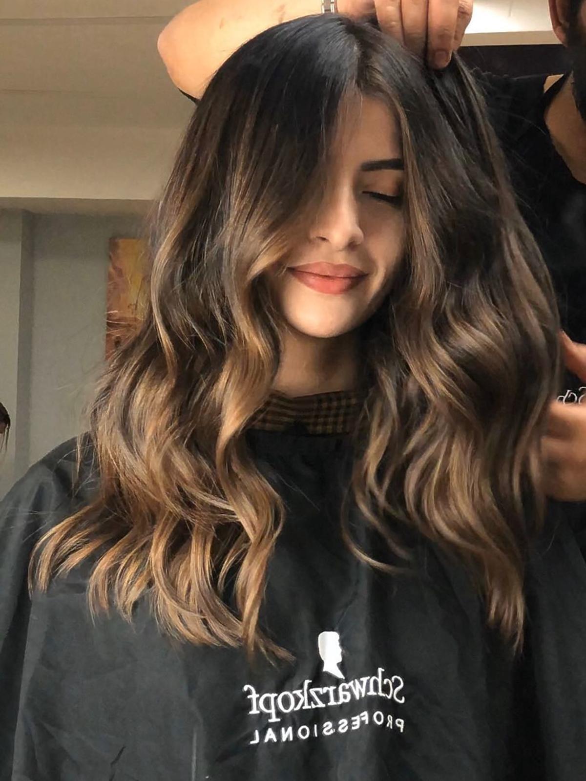 Koloryzacja włosów sombre