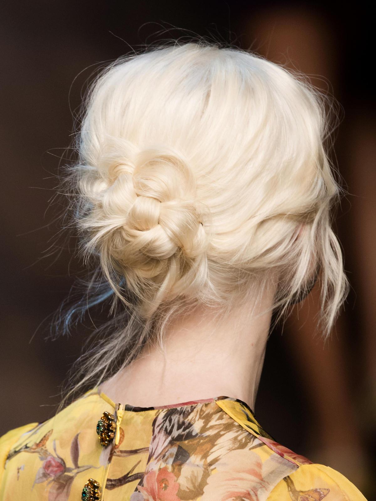 Platynowy blond Dolce&Gabbana na jesień 2014