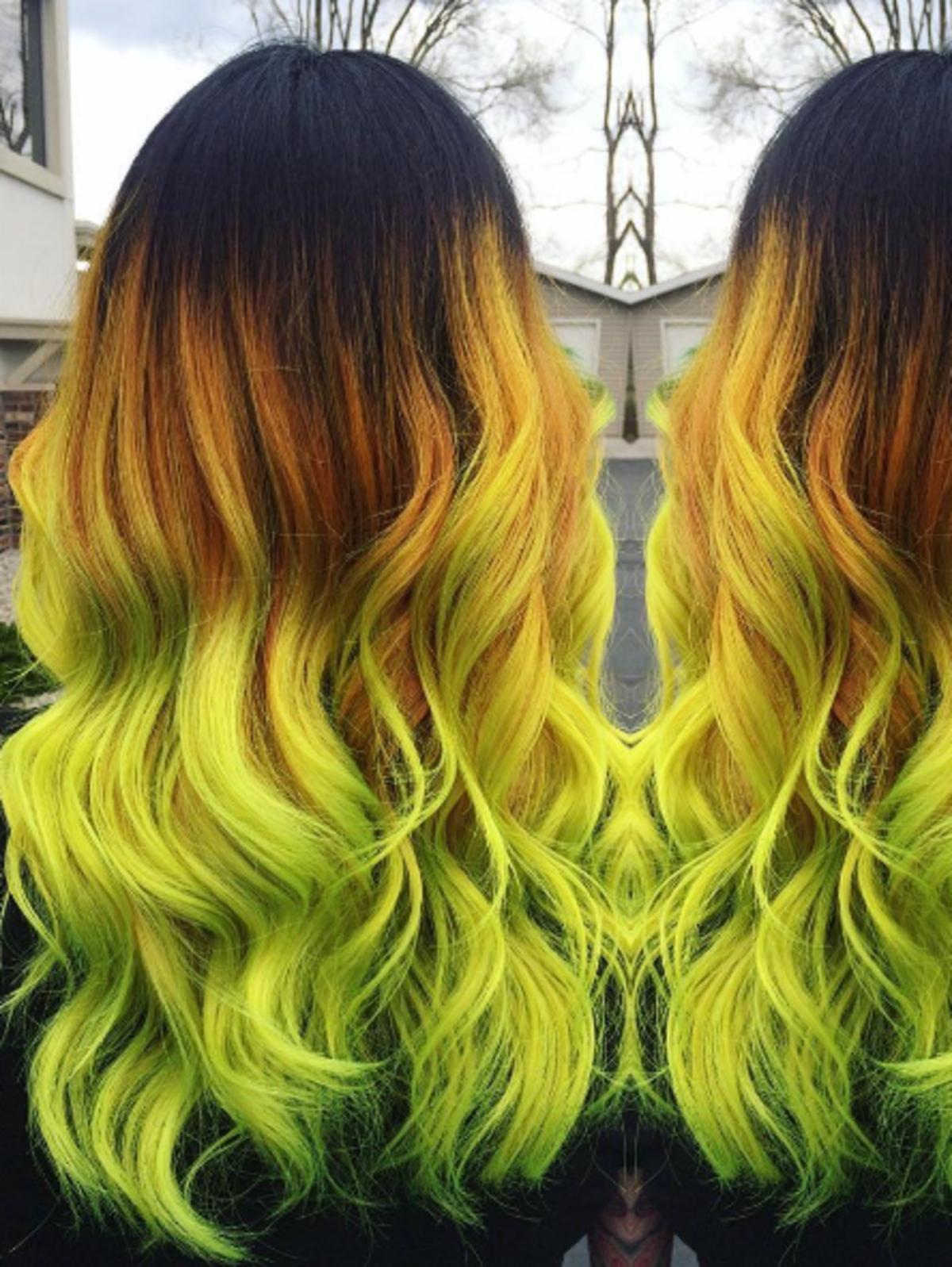 Tangerine hair, czyli sorbetowa koloryzacja włosów