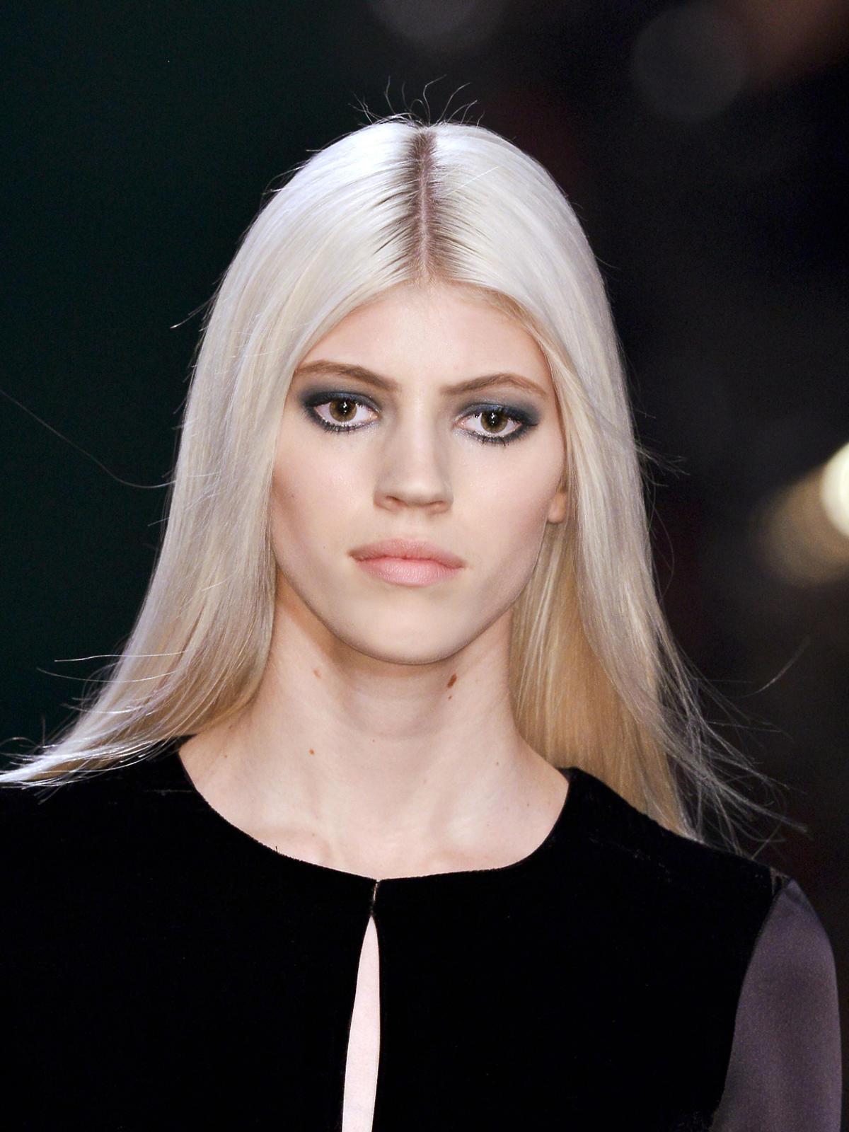 Platynowy blond Elie Saab na jesień 2014