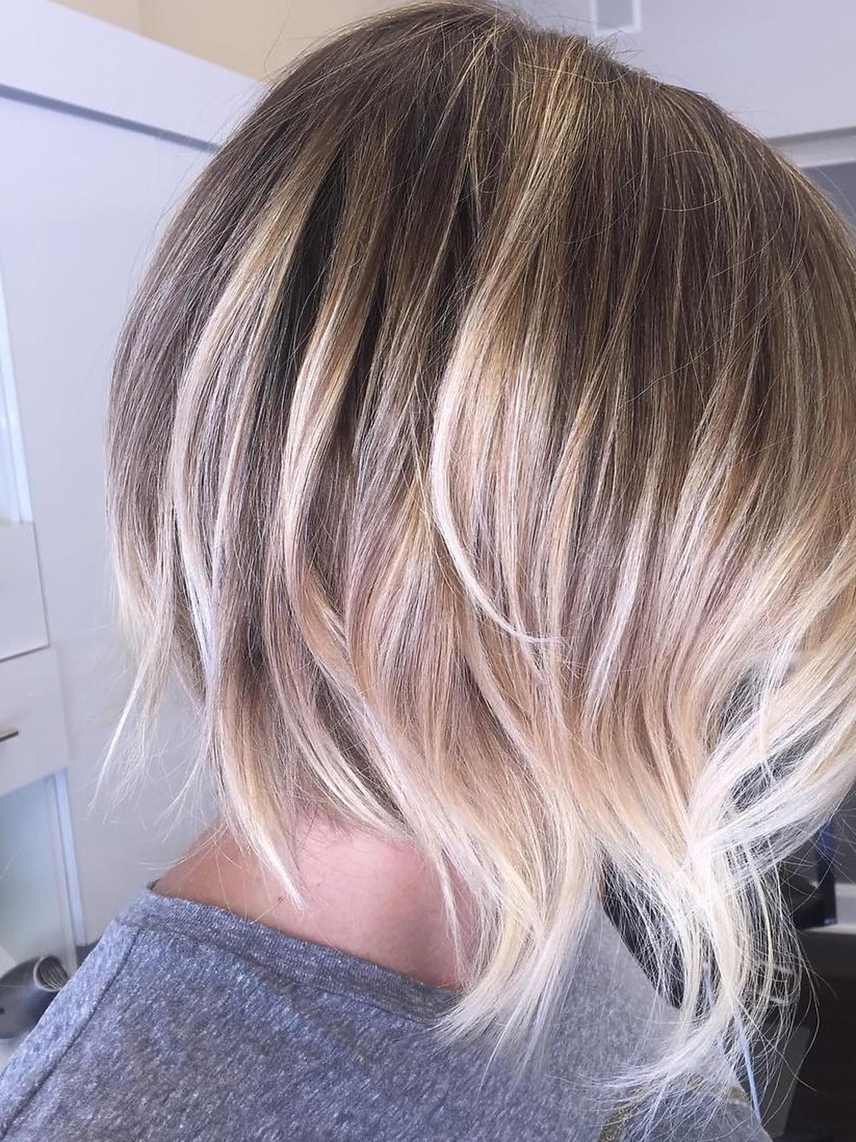 Modne fryzury: A Line Bob dla cienkich włosów