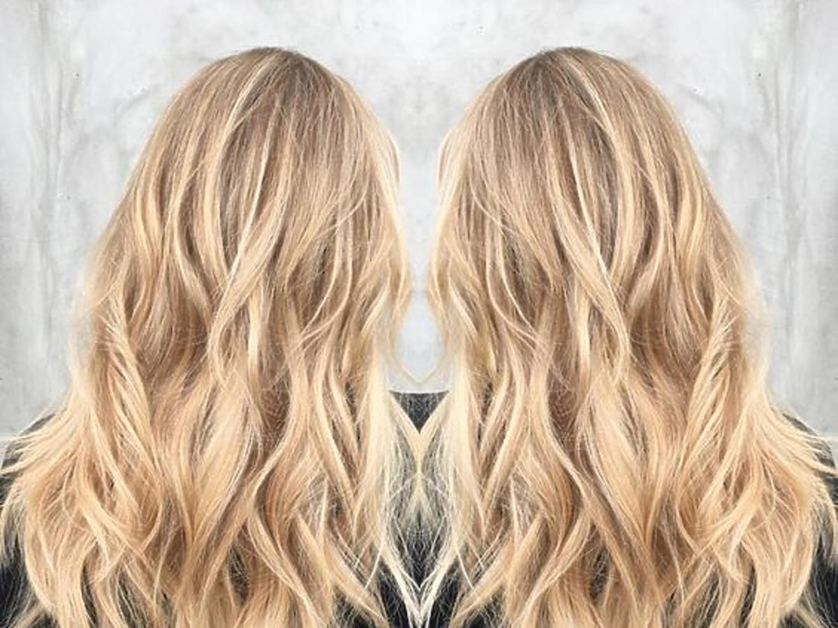 Maślany blond