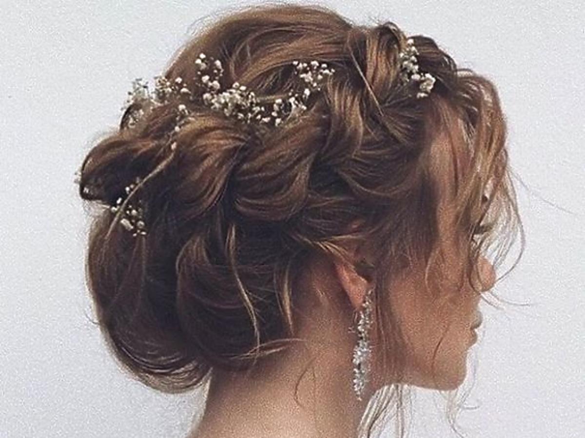 Ślubna fryzura