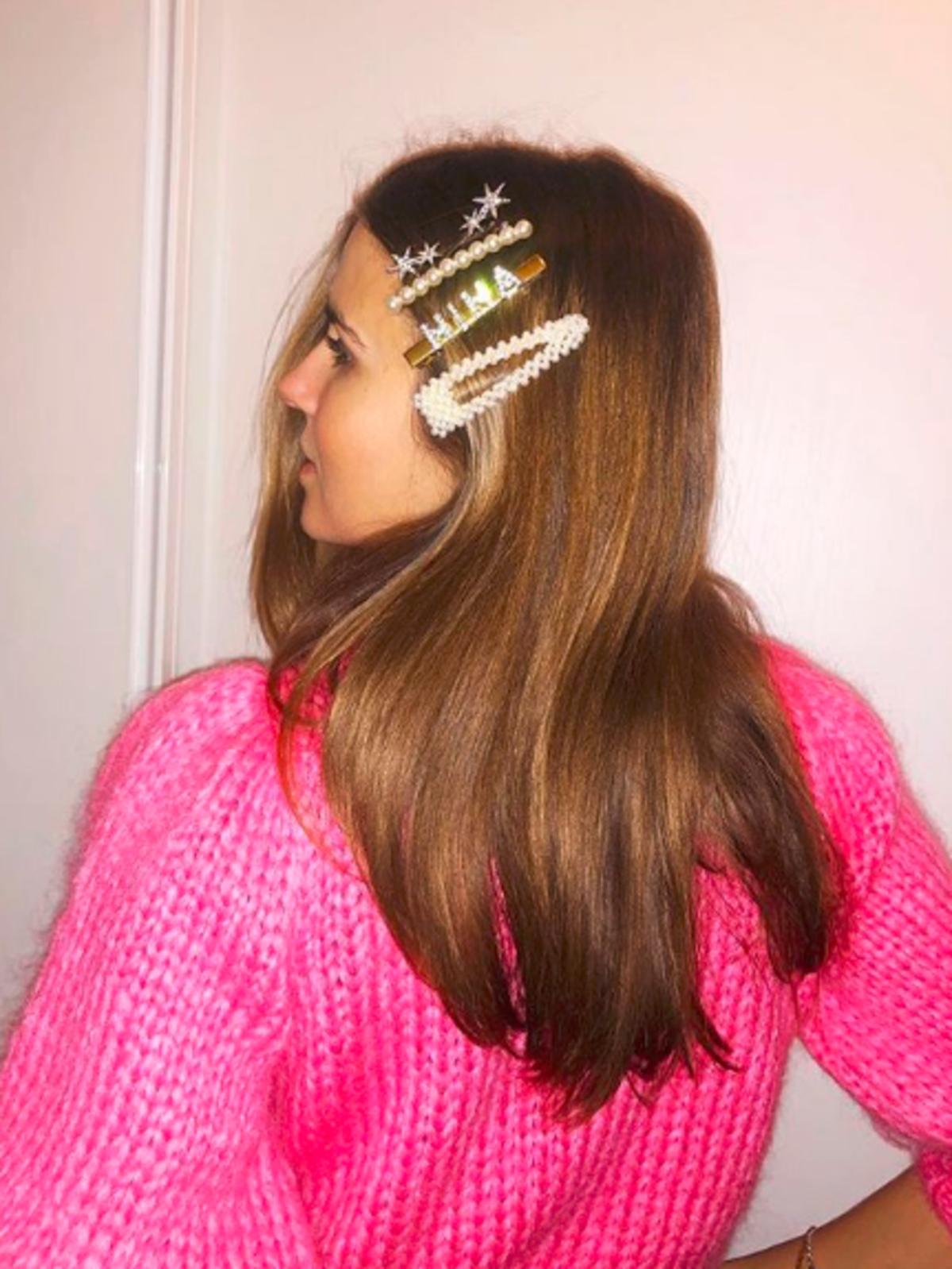 Barette Stacking - noszenie spinek we włosach